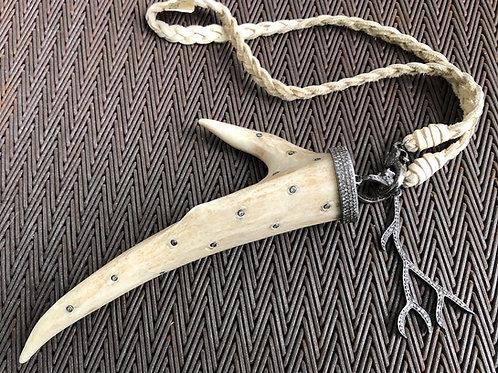 Antler & Diamond Choker Necklace