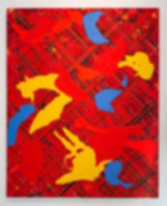 E-Moses_Poly no1_1987-97_Acrylic-Canvas_