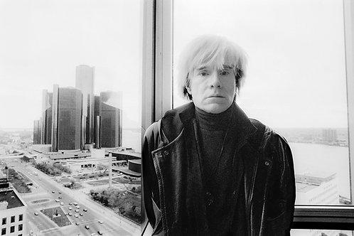 """Michelle Andonian """"Andy Warhol in Detroit"""""""