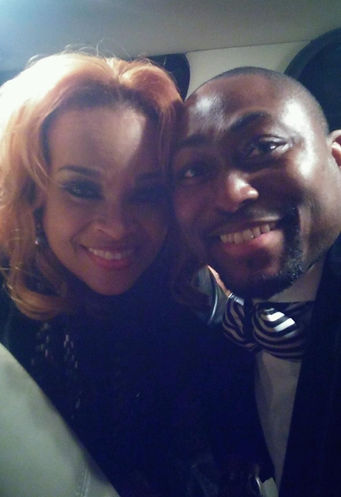 Elijah Bradford and Karen Clark Sheard