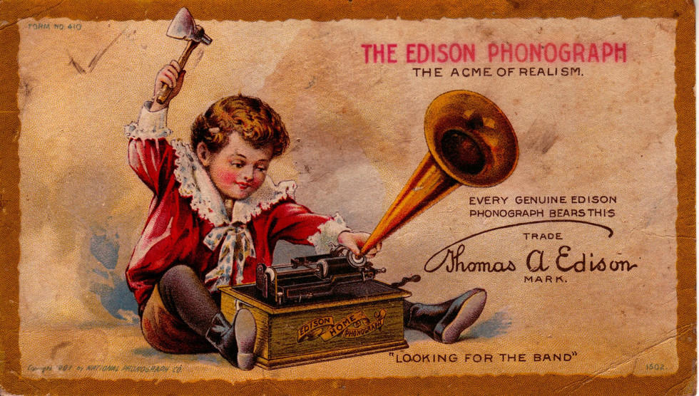 Can You Hear Me Now: Thomas Edison's Phonograph