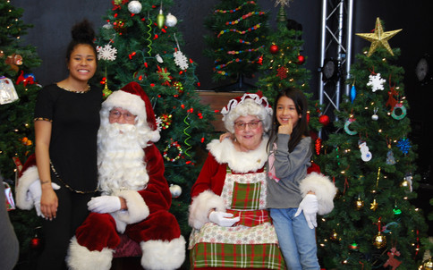 Thank you to Santa and Mrs. Claus for making this day so special for so many children.