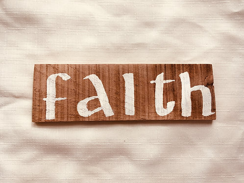 Faith - Little Catholic Sign