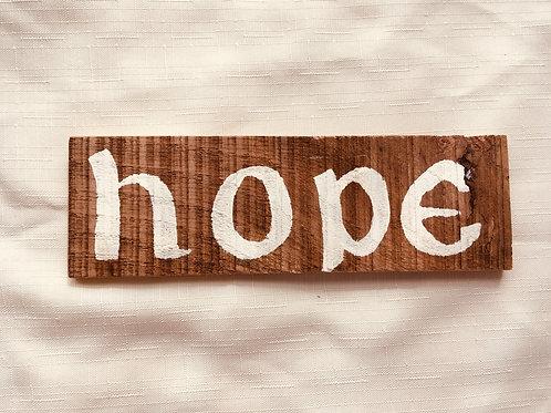 Hope - Little Catholic Sign