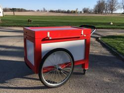 Cooler cart closed