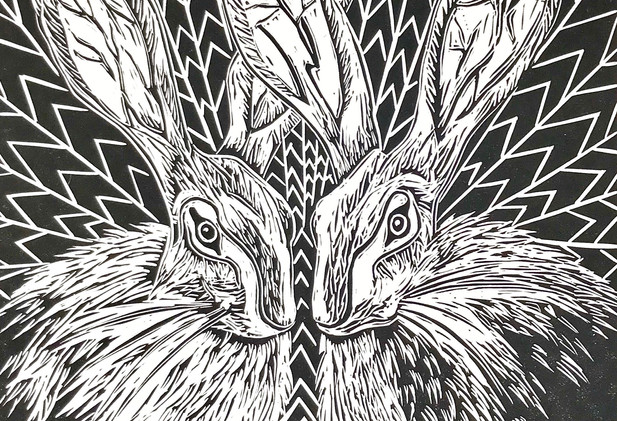 Cally Conway - 'March Hares'
