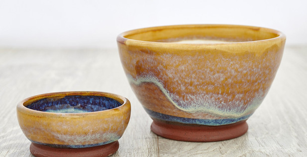 Rupert Blamire - Olive and stones bowls