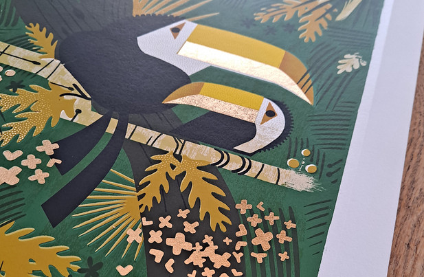 Graham Carter -'Toucans' Limited Edition Giclee
