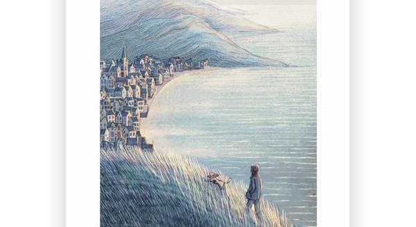 David Fleck Illustration - When we go outside again II A3 print