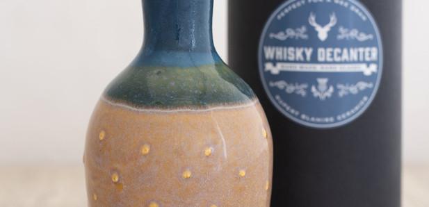Rupert Blamire - Whisky decanter - Summer Tide
