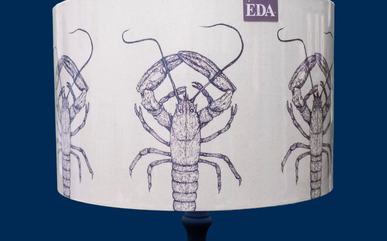 Ellie Davidson-Archer - Lobster Lampshade 30cm