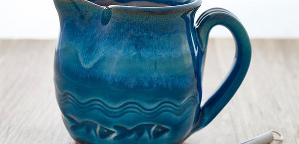 Rupert Blamire - Coastal jug and whisk