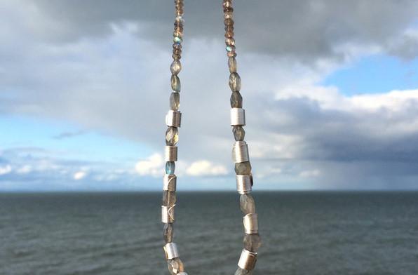 Labradorite & Silver Necklace