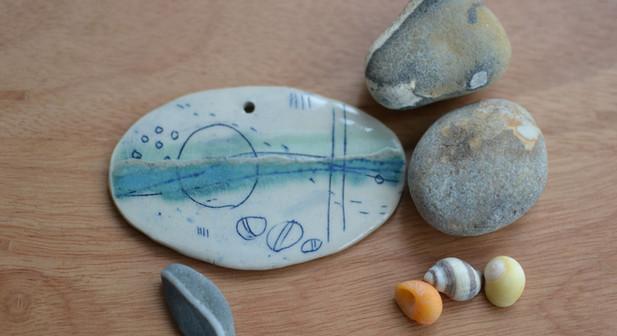 Wall Seascape - Lorna Gilbert Ceramics