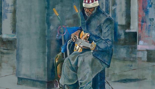Robert Myers Art - 'Hear me' print Limited edition
