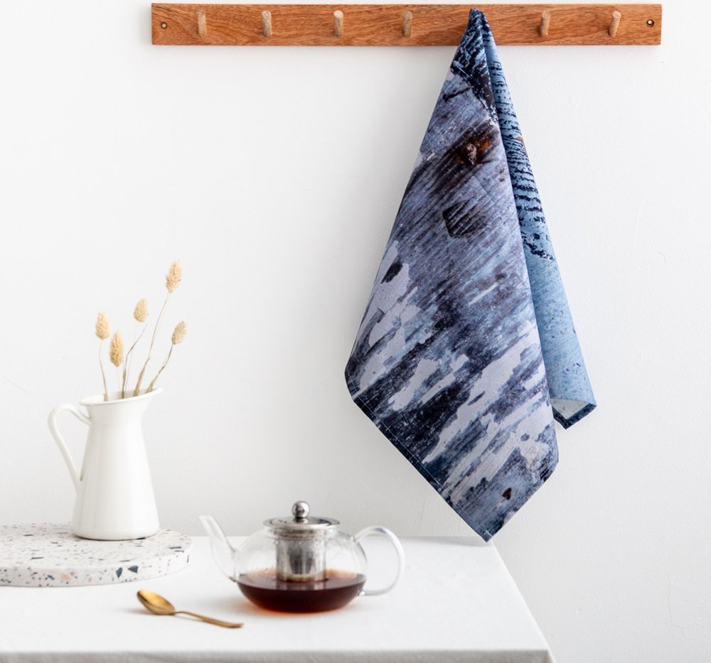Tea Towel in 'Breeze' Design by Ruth Holly