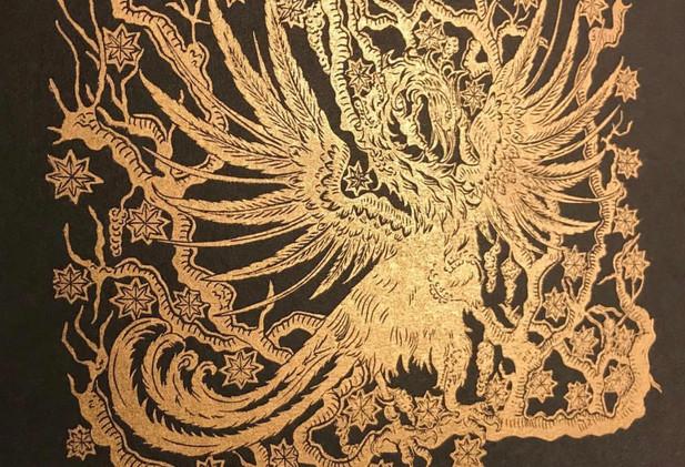 Cally Conway - 'Phoenix and Myrrh Tree'
