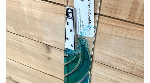 Mother & Daughter Glass - Beach Suncatcher 30cm