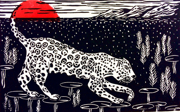 Sophie Basilevitch - Night Jaguar