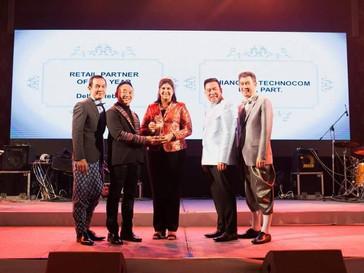 เชียงรายเทคโนคอม ได้รับรางวัล Retail Partner of the Year 2018 : Dell notebook