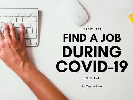 How to find a job during COVID-19 in 2020