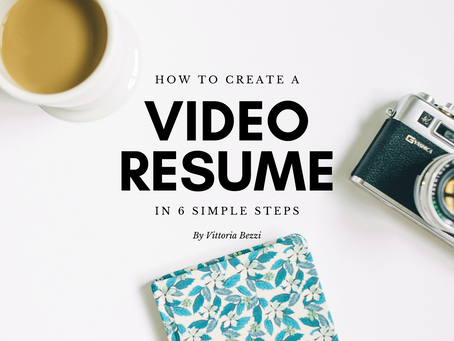 How to Create a Video Resume in 6 Simple Steps