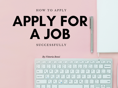How to apply for a job successfully