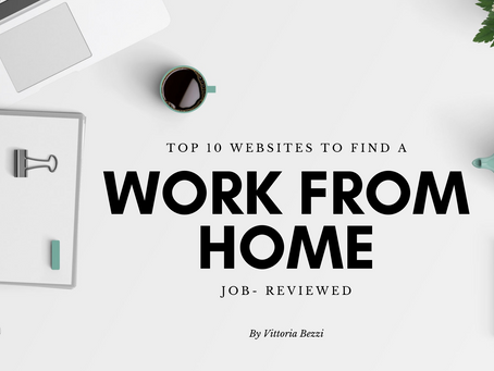 TOP 10 websites to find a work-from-home job reviewed
