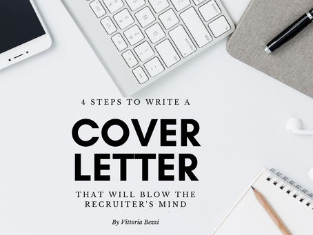 4 steps to write a cover letter that will blow the recruiter's mind
