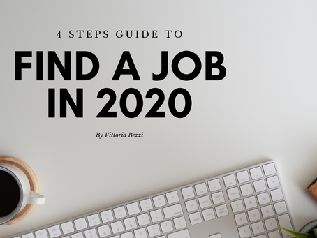 4 steps guide for finding a job in 2020