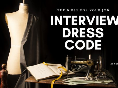 The Bible for your Job Interview Dress code