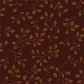 Chocolate Brown Vines