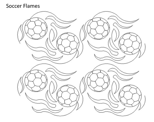 Soccer Flames