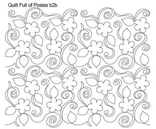Quilt Full of Posies