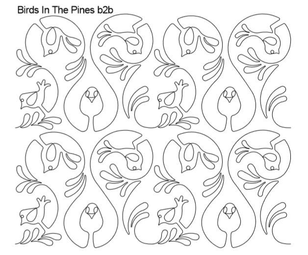 Birds In The Pines