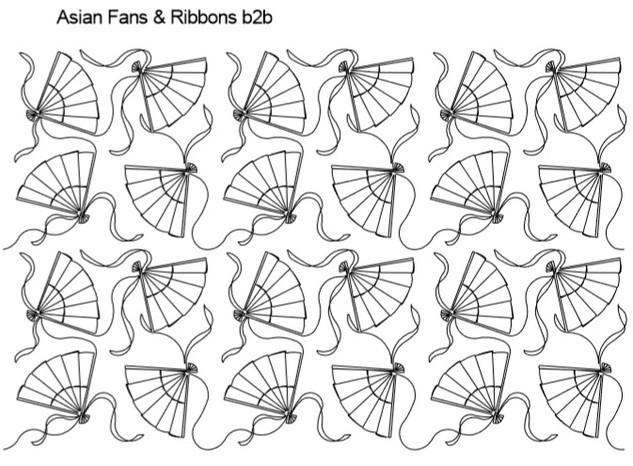 Asian Fans & Ribbons