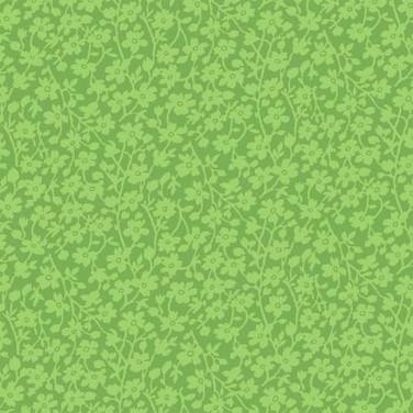 Mono Floral Green