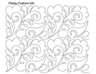 Paisley Feathers