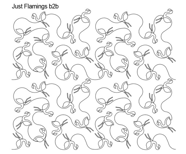 Just Flamingos