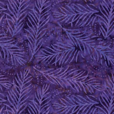 Delicate Fronds Purple