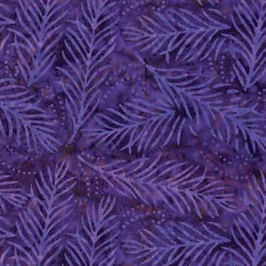 Delicate Fronds Purple