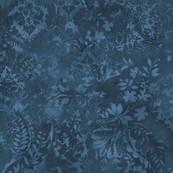 Deep Blue Vintage Damask