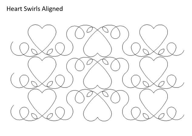 Heart Swirls Aligned