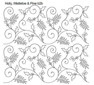 Holly, Mistletoe & Pine