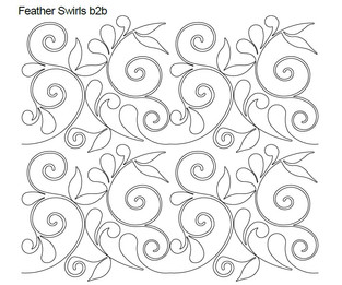 Feather Swirls