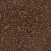 Brown Flourish