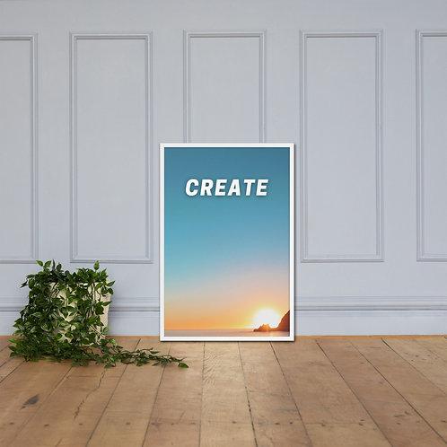 Create Framed Poster