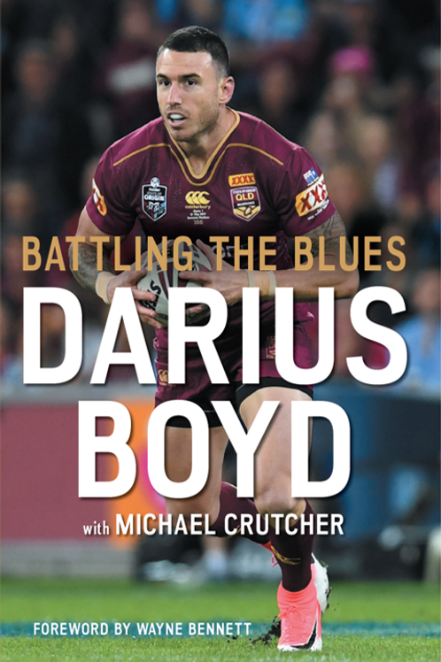 "Darius Boyd - ""Battling the Blues"" - Autobiography - Signed by Darius Boyd"