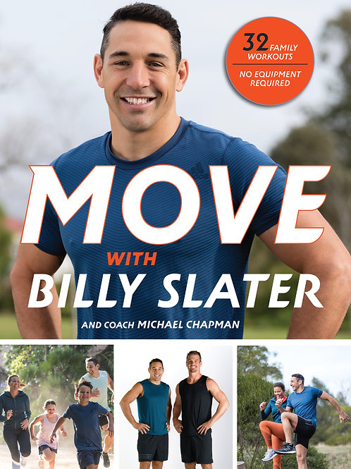 MOVE with Billy Slater - book
