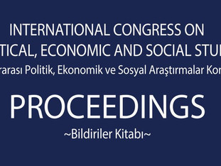 International Congress on Political, Economic and Social Studies (ICPESS 2016) Proceedings Book
